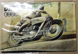 Metaalplaat DKW