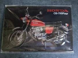 Metaalplaat Honda CB-750Four