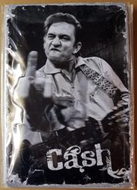 Metaalplaat Jonny Cash
