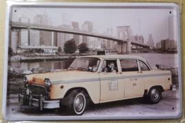 Metaalplaat Chevrolet taxi