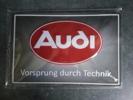 Metaalplaat Audi