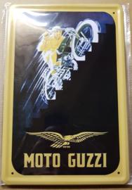 Metaalplaat Guzzi