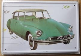 Metaalplaat Citroën DS19
