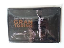 Metaalplaat Clint Eastwood (Gran Torino)
