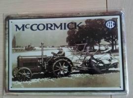 Metaalplaat McCormick