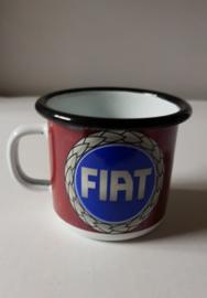 Tas/mok in emaille Fiat