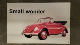 Metaalplaat Volkswagen Small Wonder