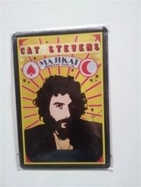 Metaalplaat Cat Stevens