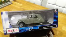 Schaalmodel 2CV 1952 1/18