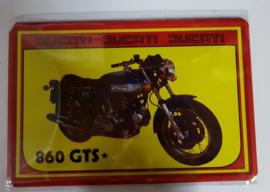 Metaalplaat Ducati 860 GTS