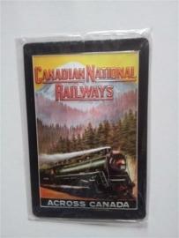 Metaalplaat Canadian National Railways