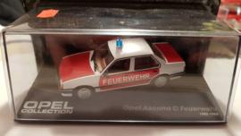 Schaalmodel Opel Ascona A Feuerwehr 1982 - 1988  1/43