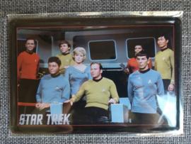 Metaalplaat Star Trek