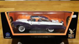 Schaalmodel Ford Crown Victoria 1955  1/18