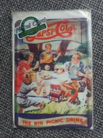 Metalen postkaart Pepsi Cola