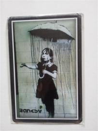 Banksy - graffiti artiest