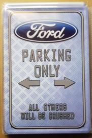 Metaalplaat Ford Parking Only