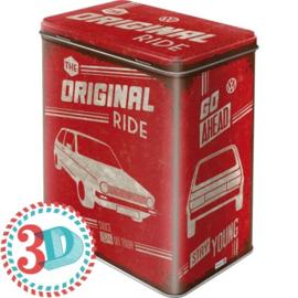 Voorraaddoos Volkswagen  The original Ride