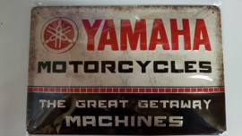 Metaalplaat Yamaha