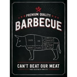 Metaalplaat BBQ