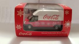 schaalmodel Ford Transit Van Coca Cola  1/72