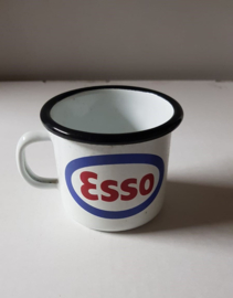 Tas/mok in emaille Esso