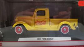 schaalmodel 1937 Ford pickup Coca Cola  1/24
