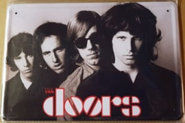 Metaalplaat The Doors