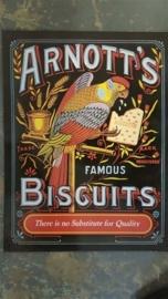 Metaalplaat Arnott's Biscuits