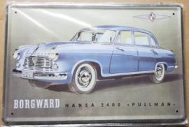 Metaalplaat Borgward Hansa 2400 Pullman