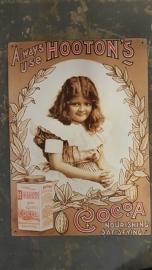 Metaalplaat Hooton's Cocoa