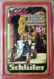 Metaalplaat Schlüter 15 PS