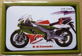 Metaalplaat Kawasaki ZXR 750 R