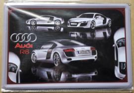 Metaalplaat Audi R8