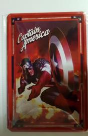 Metaalplaat Captain America