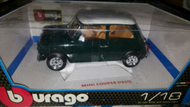 Schaalmodel Mini Cooper  1969  1/18