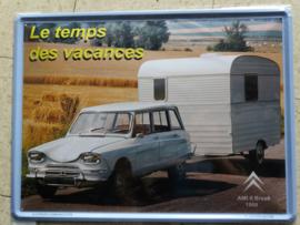 Metaalplaat Citroën AMI 6 Break