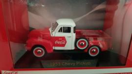 Schaalmodel 1953 Chevy Pickup  Coca Cola 1/32