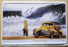 Metaalplaat Buick Buttercupcm