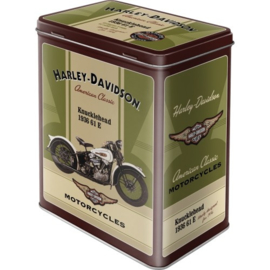 Voorraaddoos Harley Davidson Knucklehead 1936 61 E