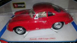Schaalmodel Porsche 356B Coupé (1961) 1/18