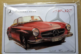 Metaalplaat Mercedes-Benz 190 SL