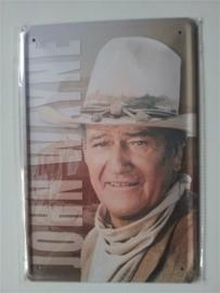Metaalplaat John Wayne
