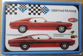 Metaalplaat Ford Mustang Mach I/Torino Cobra JET 428 Fastback