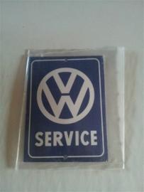 Logo/merk plaatje Volkswagen Service