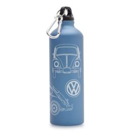 Drinkbus Volkswagen kever blauw