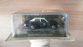 Schaalmodel Chevrolet Nova James Bond collectie  1/43