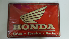 Metaalplaat Honda