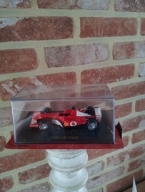 Schaalmodel Ferrari F2002