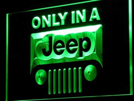 3D ledverlichting Jeep